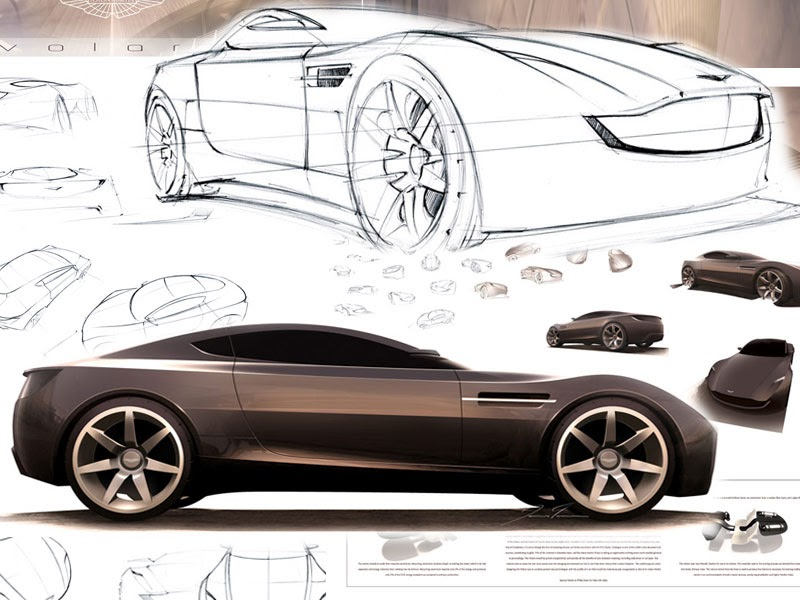 Luxury Vehicle: NEW CAR IMAGE GALLERY: Aston Martin Sports Car Concept