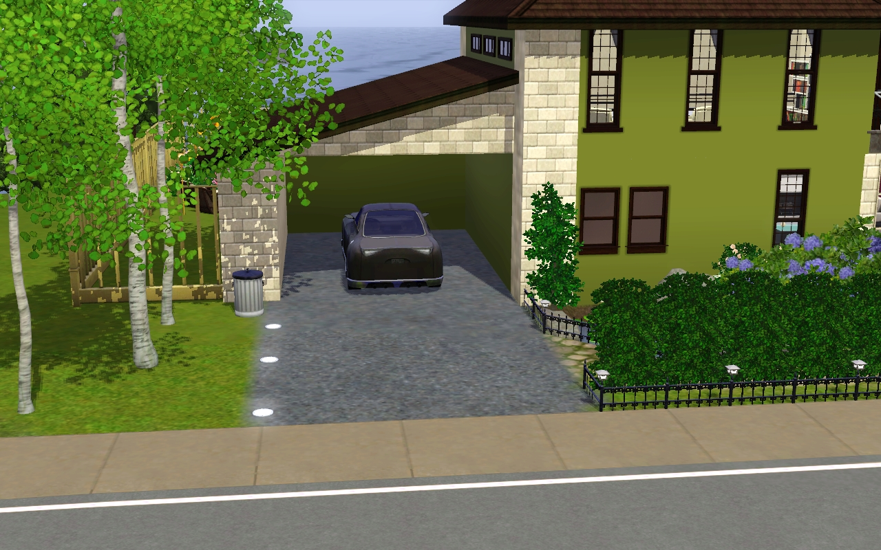The Sims 3 Blog: One Bedroom Sunset Valley House