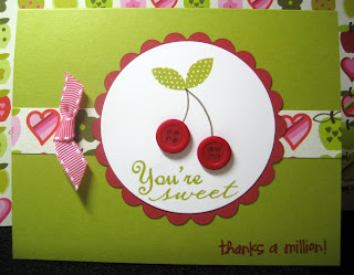 Practical Scrappers Card with CTMH stamps