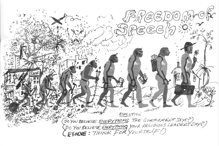 Evolution of Freedom of Speech