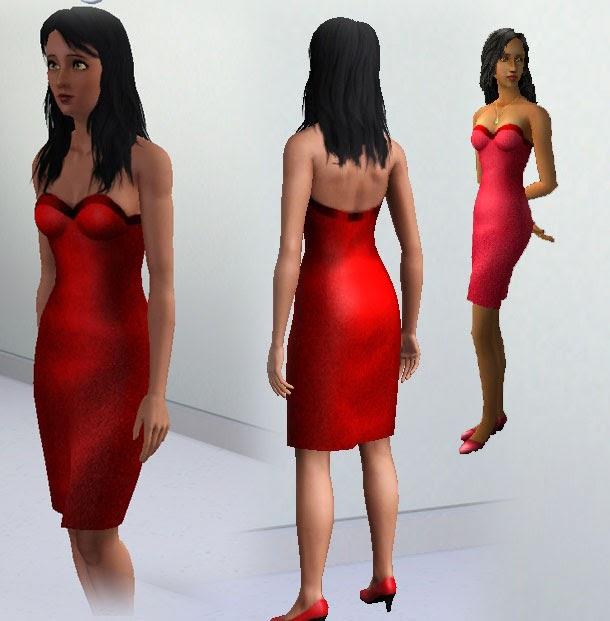 My Sims 3 Blog: Bella Goth Top And Skirt By Kiara24