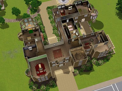 my sims 3 blog chateau du landgraab detombed and residential 39 d by claeric