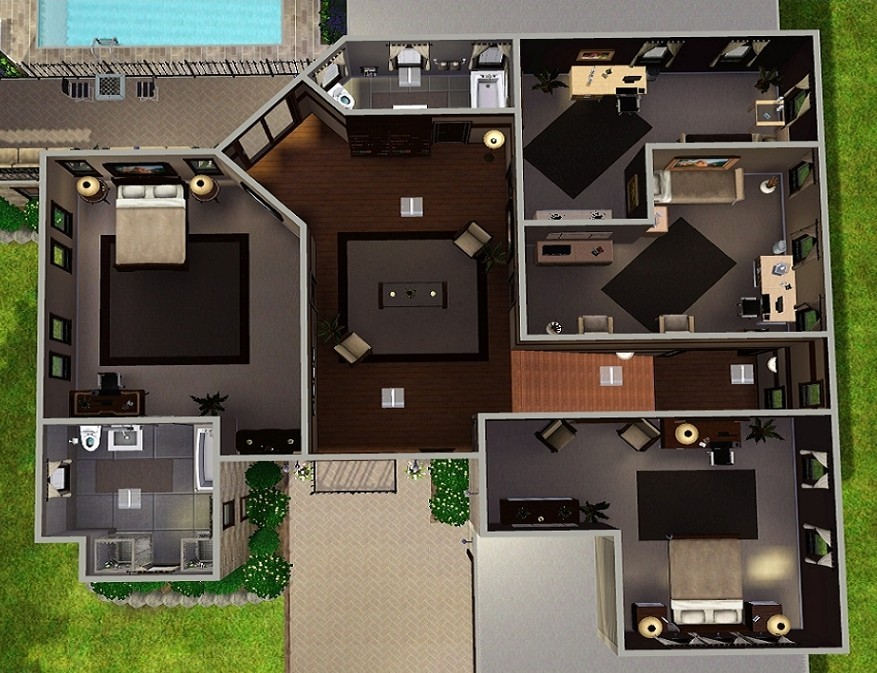 THE SIMS HOUSE PLANS | Over 5000 House Plans