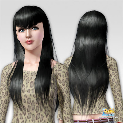 v haircut my sims 3 free hair and earrings by peggy 2009