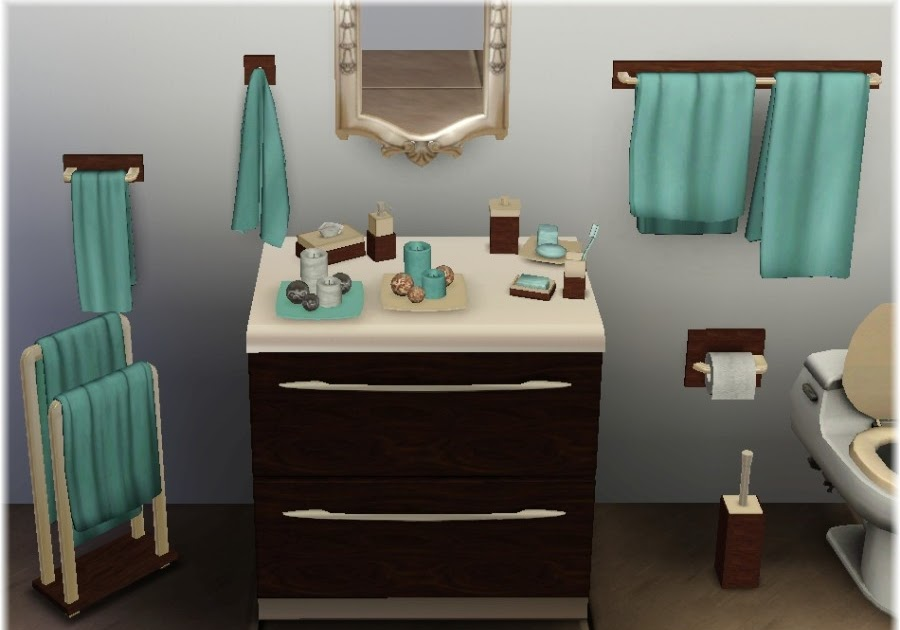My Sims 3 Blog Updated Bathroom Clutter By Suza