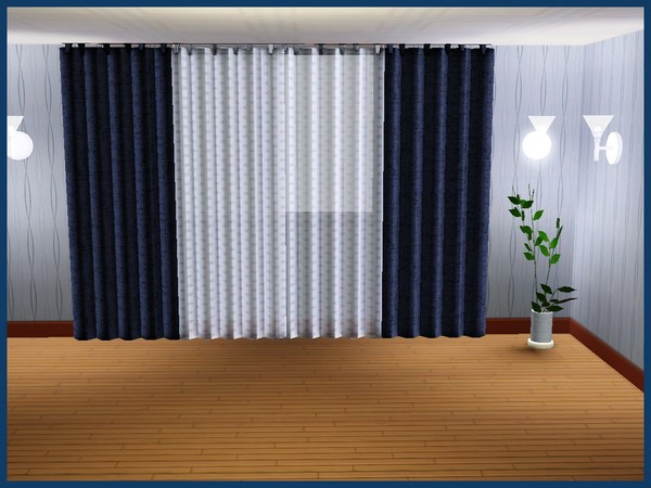 My Sims 3 Blog Curtains By Akisima