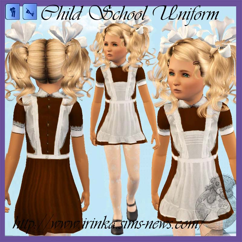 My Sims 3 Blog School Uniforms For Child - Teen Females -2395
