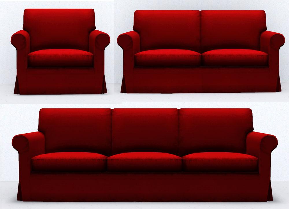 My Sims 3 Blog: (TS2 to TS3-ish) Ikea EKTORP Living Room ...