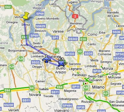 Transportation Train Service From Malpensa Airport To Stresa And Milano
