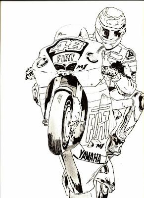 Dibujos De Coches Y Del Motor Por Alex Picao Mas Motos Y Mix