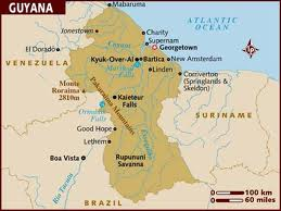 Officially The Co Operative Republic Of Guyana This Carribean Country Is Located On Northern Coast South America Once A British And Dutch Colony