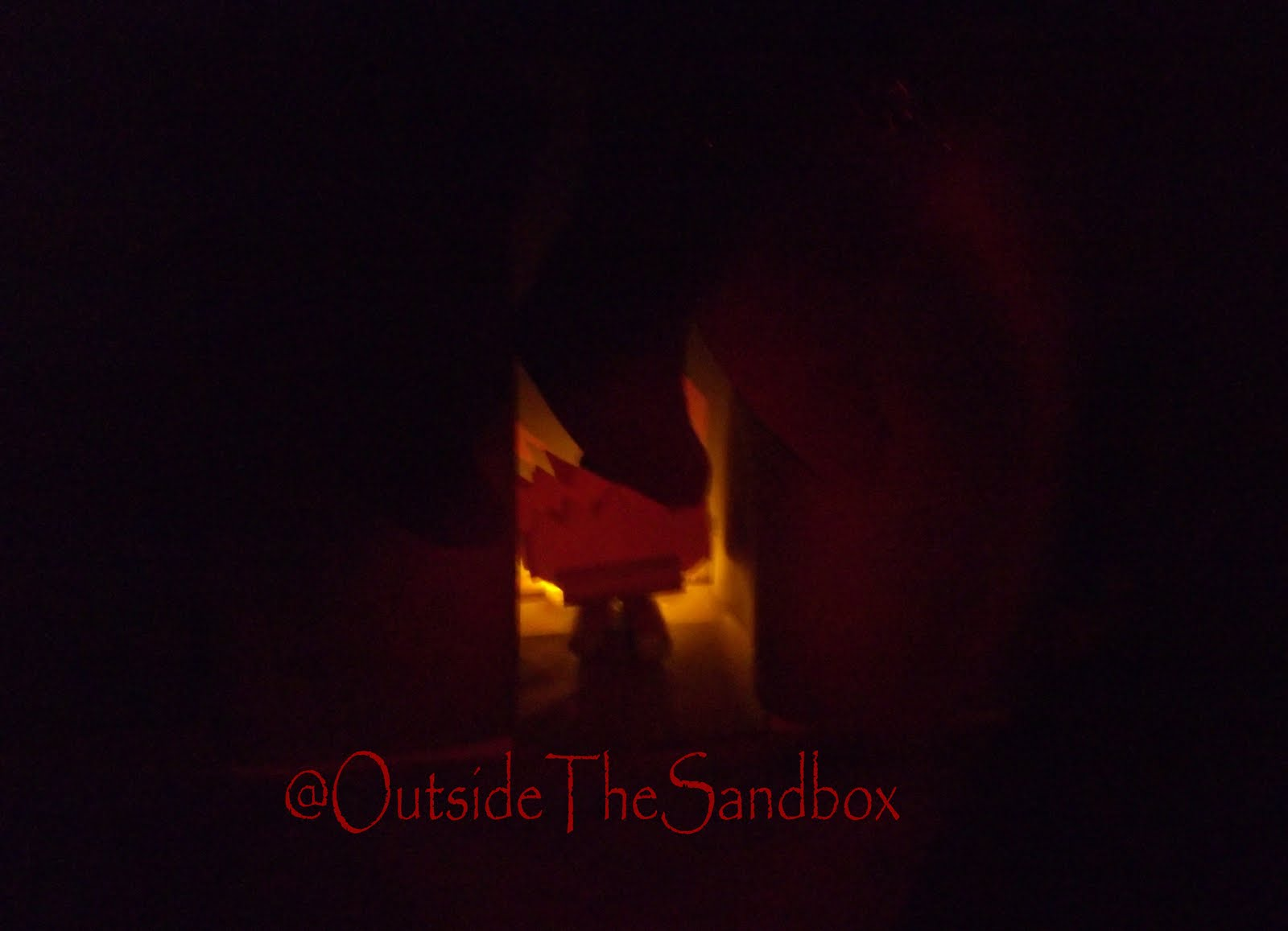 Outside The Sandbox Christmas Decor Homemade Mantel And