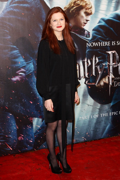 Bonnie Wright Roter Teppich Laura's View: Harry Potter Fashion Roundup!