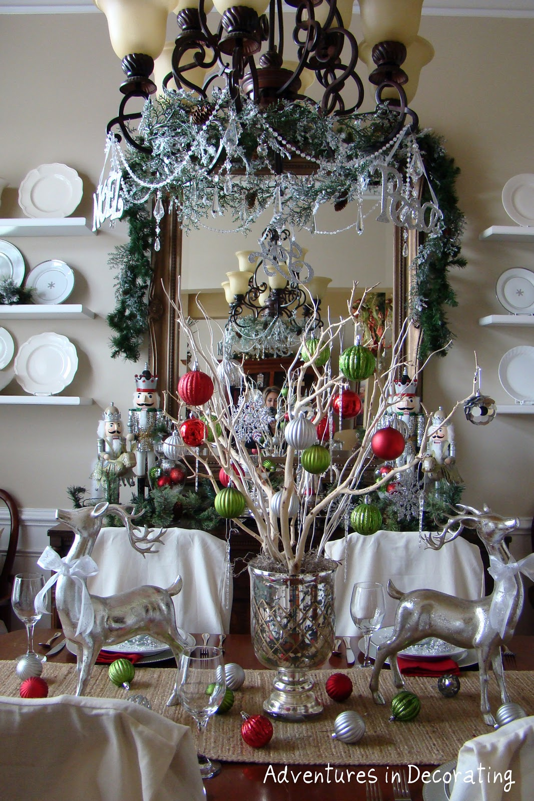 Adventures In Decorating Christmas Dining