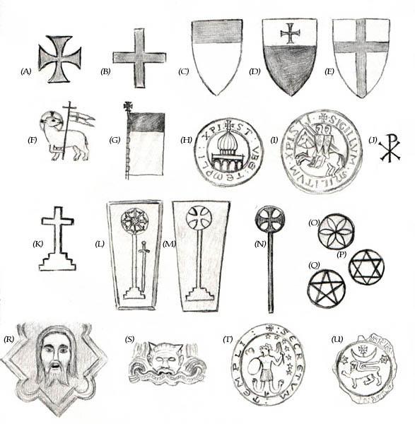 Knights Templar Carvings