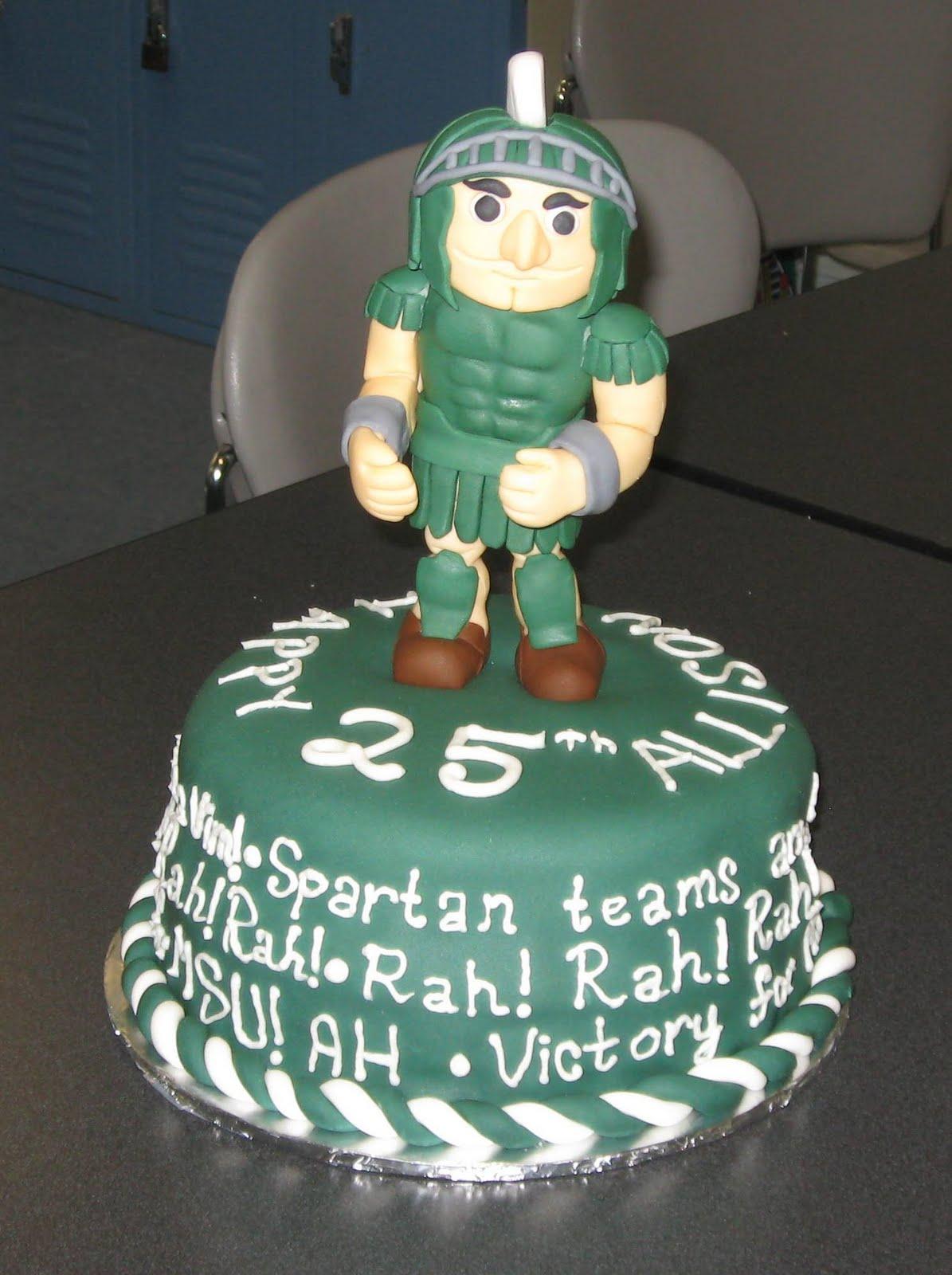 Msu Birthday Cake