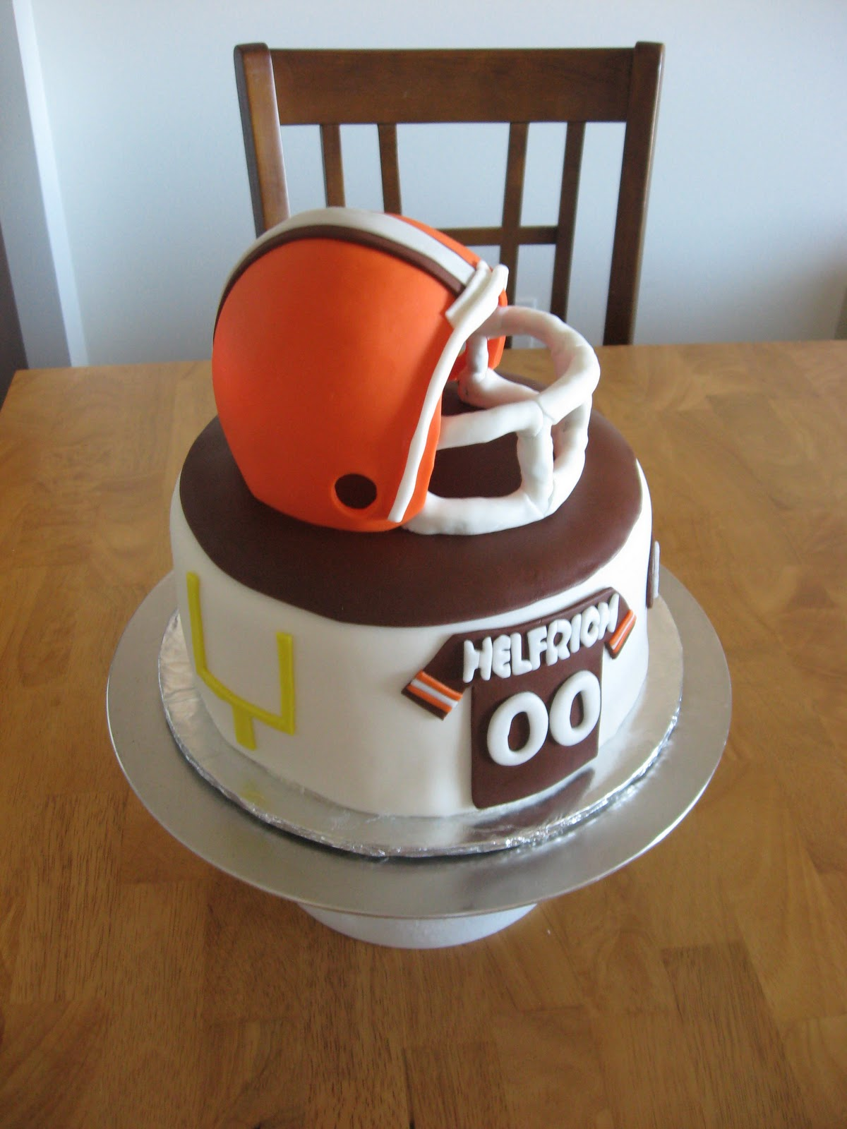 Sweet Cakes Dc Cleveland Browns Cake