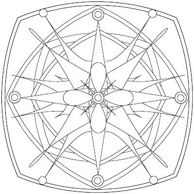 Circle Mandala Coloring Pages Colorings Net