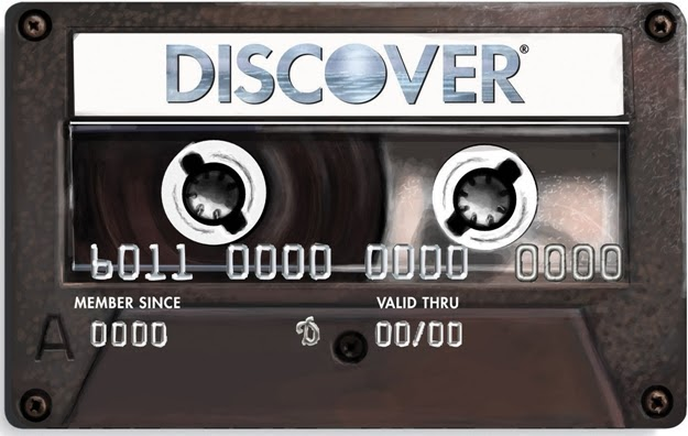 Love My New Credit Card Discover Cassette Jeriah Flickr