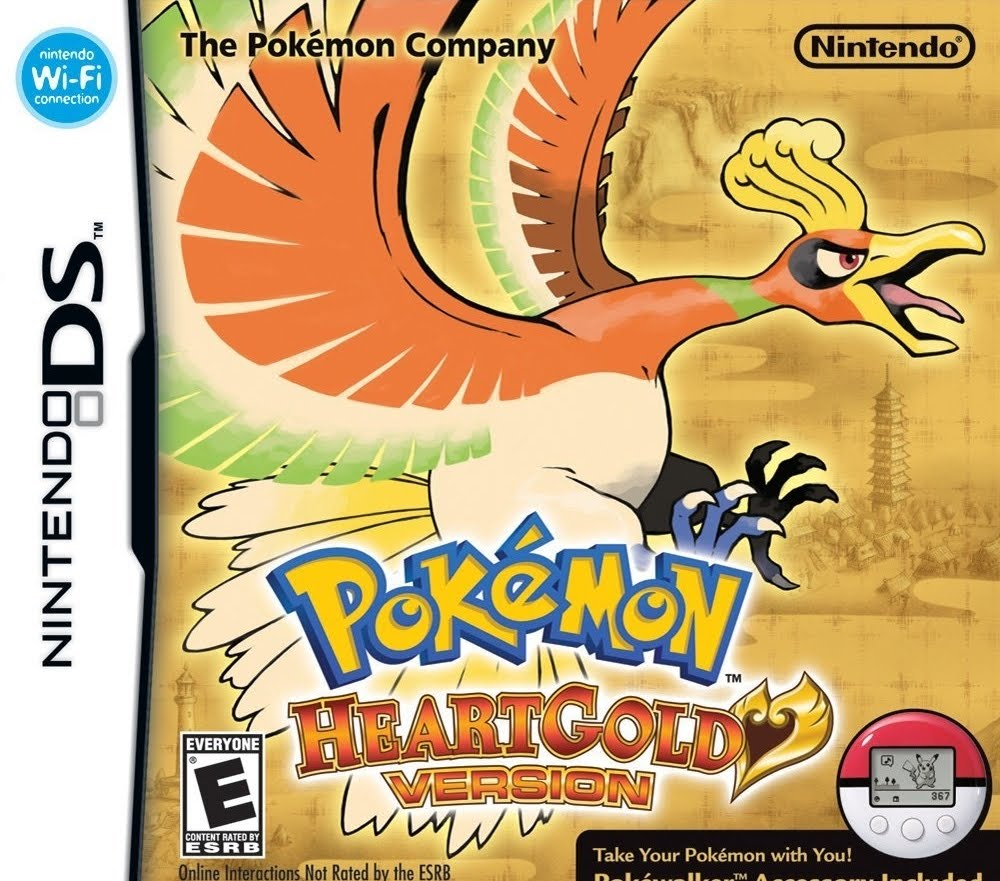 Pokemon Heart Gold Version Ds Download Play Games
