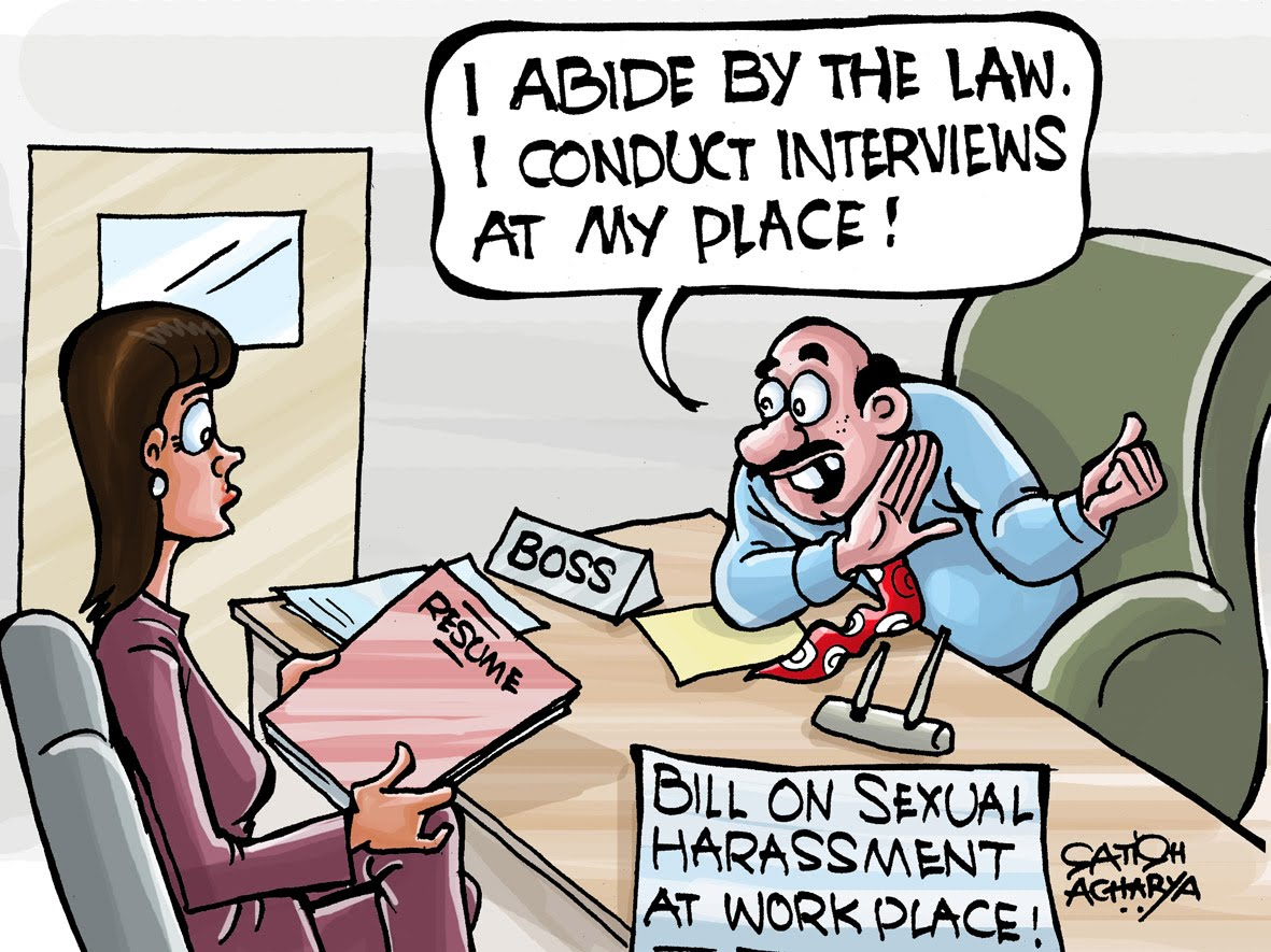 Sexual harassment in the workplace bill india