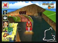 captura de tela do jogo crash nitro kart 5