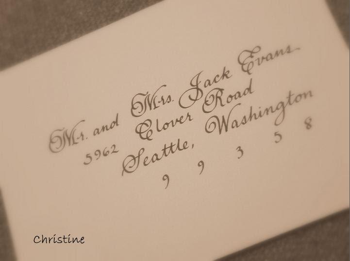 Wedding Invitation Outer Envelope: Designs By Robyn Love: Envelope Addressing Etiquette For