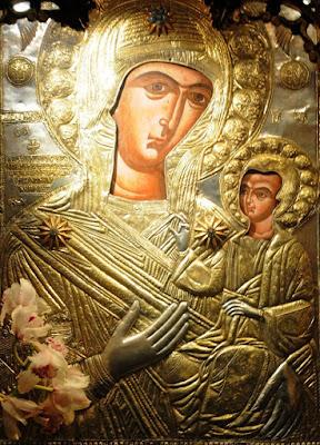 Αποτέλεσμα εικόνας για Παναγία η Προυσιώτισσα