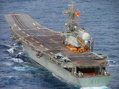 warship: spanish aircraft carrier Principe de AsturiasSpanish Aircraft Carrier Principe De Asturias