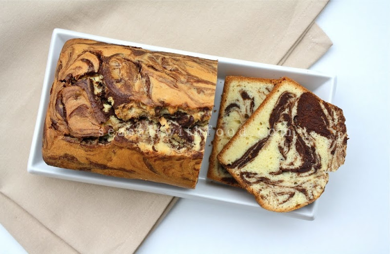 Seasaltwithfood Traditional Marble Loaf Cake
