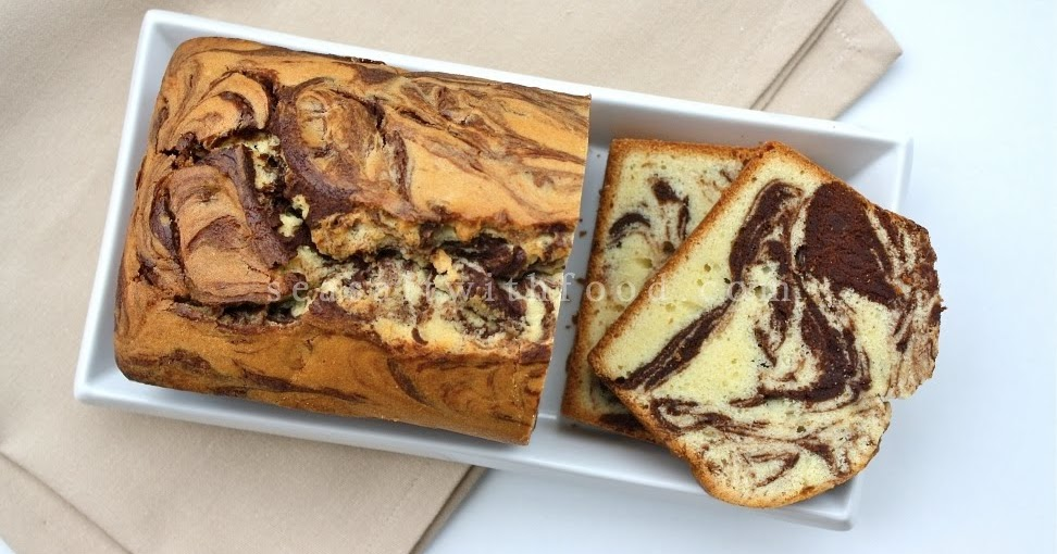 Cake And Loaf Recipes: Seasaltwithfood: Traditional Marble Loaf Cake