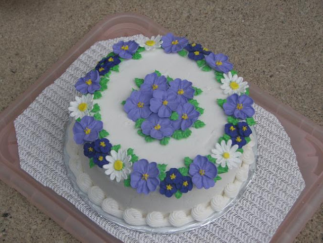 Different Cake Icing Recipes: Bento For Kidlet: Lazy Lunch And Flower Cake