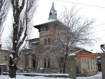Дом в Симферополе, в котором был Черчилль
