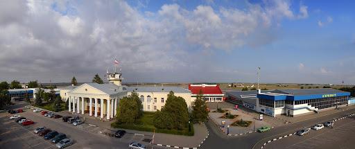 Панорама симферопольского аэропорта