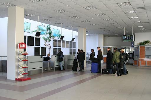 В симферопольском аэропорту