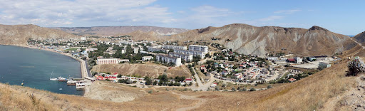 Поселок Орджоникидзе в Крыму