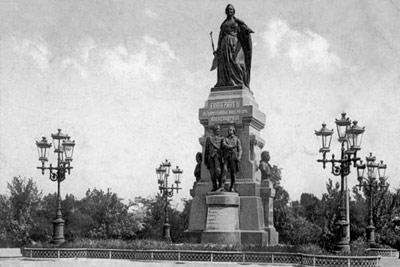 Памятник Екатерине II в Симферополе