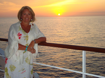 Sailing Under The Mediterranean Moonme To Barcelona On