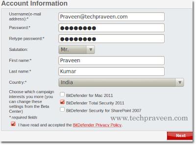 Download Free BitDefender 2011 With 3 Months License Key