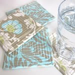 Drinks Coasters with Bound Edges Tutorial