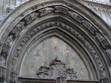 Fachada de la catedral de Aix en Provence