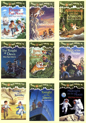 List of the magic tree house books