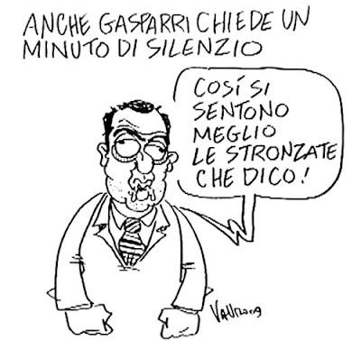 il simpatico Maurizio Gasparri