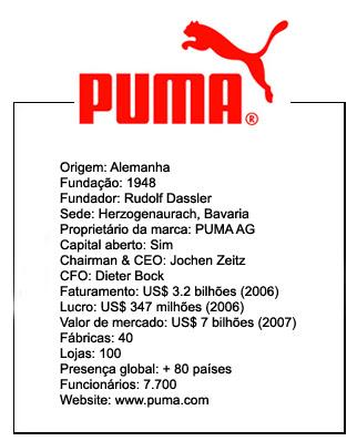 388e95ae3 Nascida de uma briga de irmãos, a PUMA brotou da costela da Adidas. As duas  sedes ficam na mesma cidade, na mesma rua, uma quase em frente à outra.