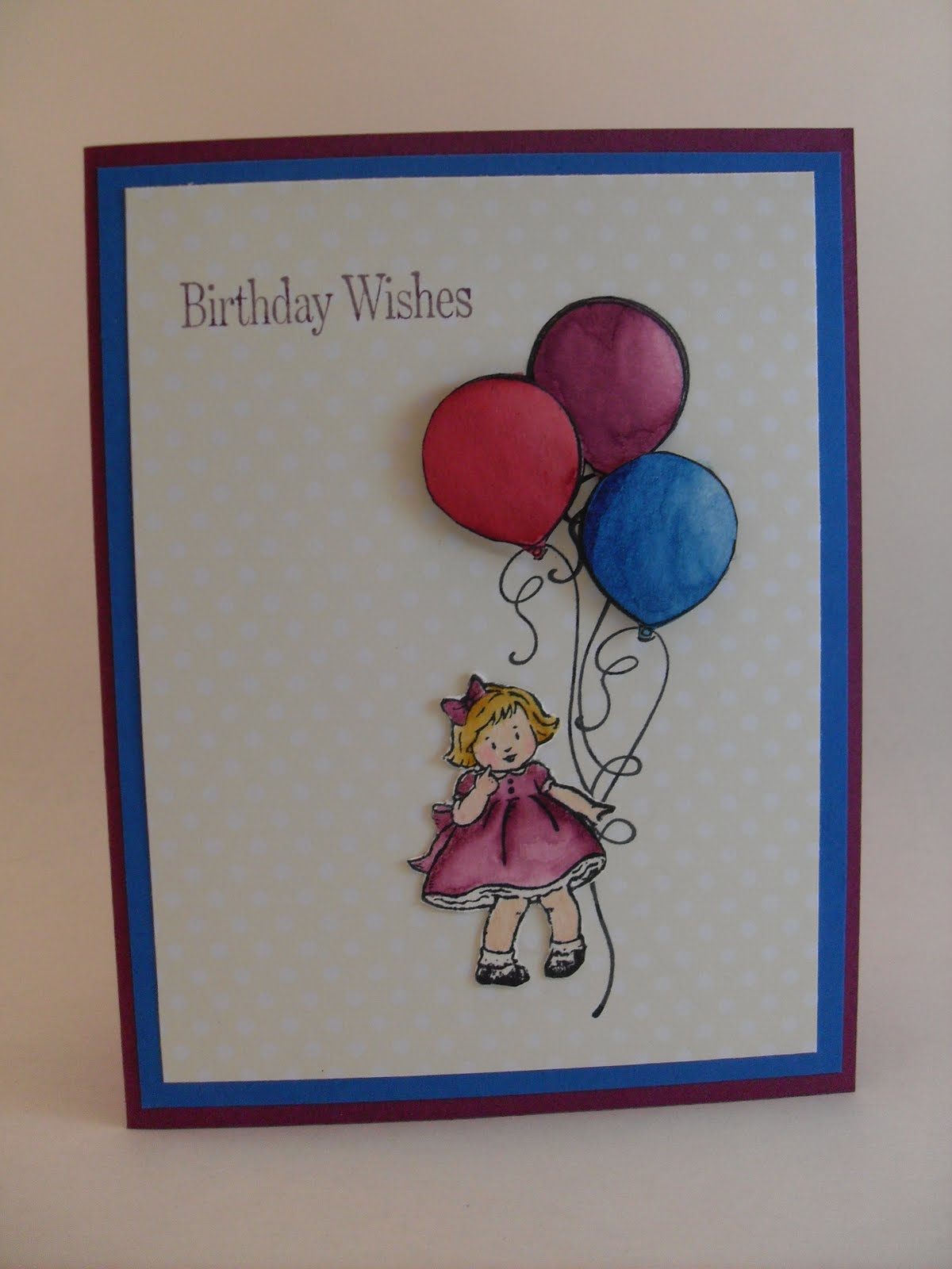 Created By Kath: Greeting Card Kids-birthday