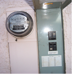 how to turn on your electric meter
