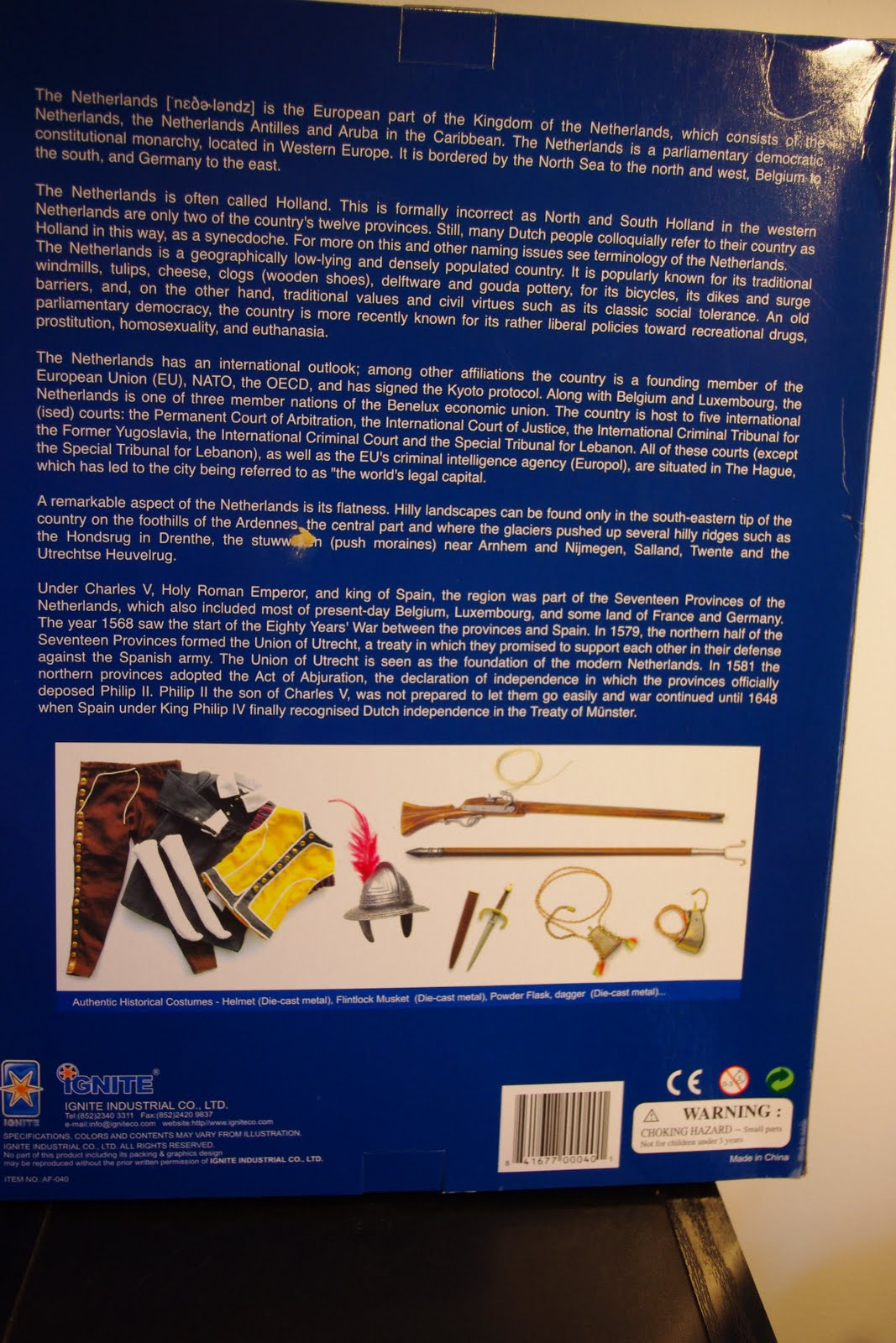 Na Boca Do Lobo: Knight of Outremer II, figura da Ignite |Riddick Blade Silhouette