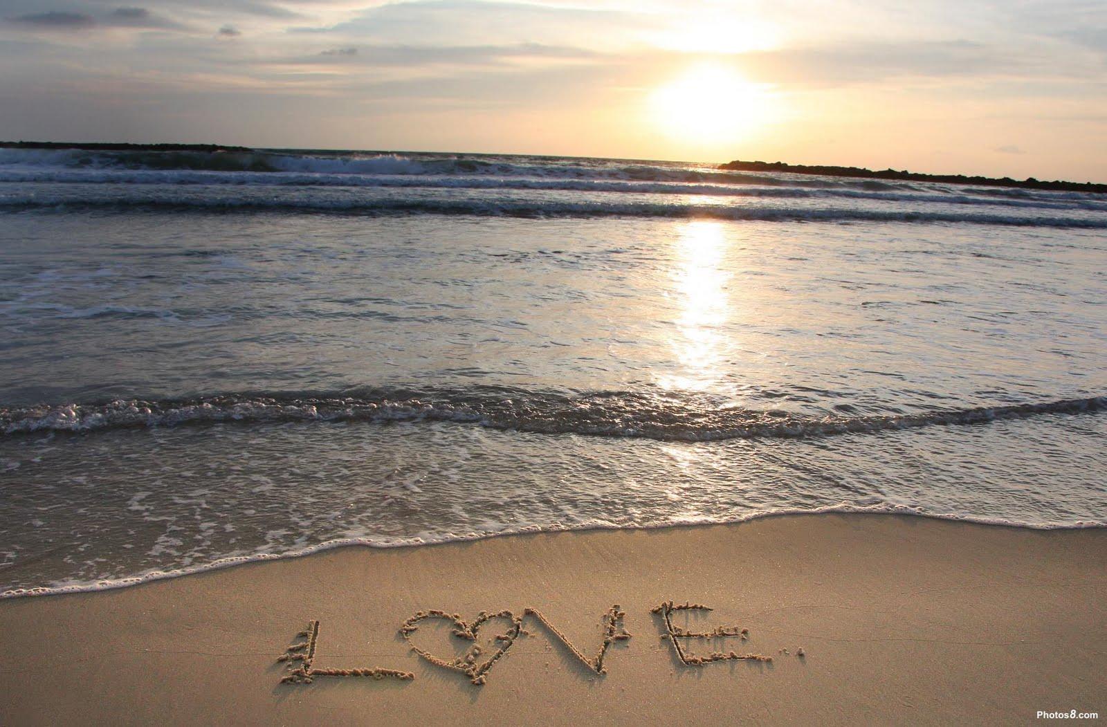 Te Amo En La Arena De La Playa: Imagenes De Amor Y Amistad: Amor En La Playa