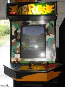 Neon The Nerd: Bought a Capcom MERCS Arcade Cabinet off ...