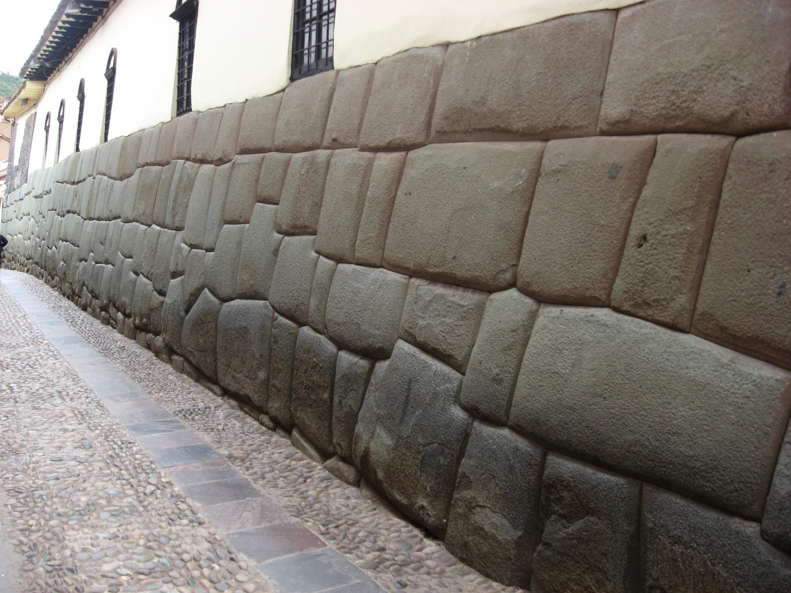 thirty letters in my name  the genius of inca masonry